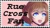Rue Cross Fan Stamp by Starlight-Enterprise