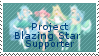 Project Blazing Star Supporter Stamp by Starlight-Enterprise