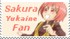 Sakura Yukaine Fan Stamp by Starlight-Enterprise
