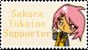 Sakura Yukaine Supporter Stamp by Starlight-Enterprise