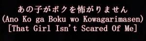 [UTAU] That Girl Isn't Scared Of Me [Ari]