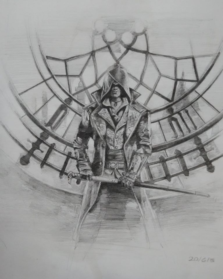 Assassins Creed Syndicate Drawing By Shyamsukumar On Deviantart