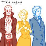 the Trio: Otto, Sacha and Will