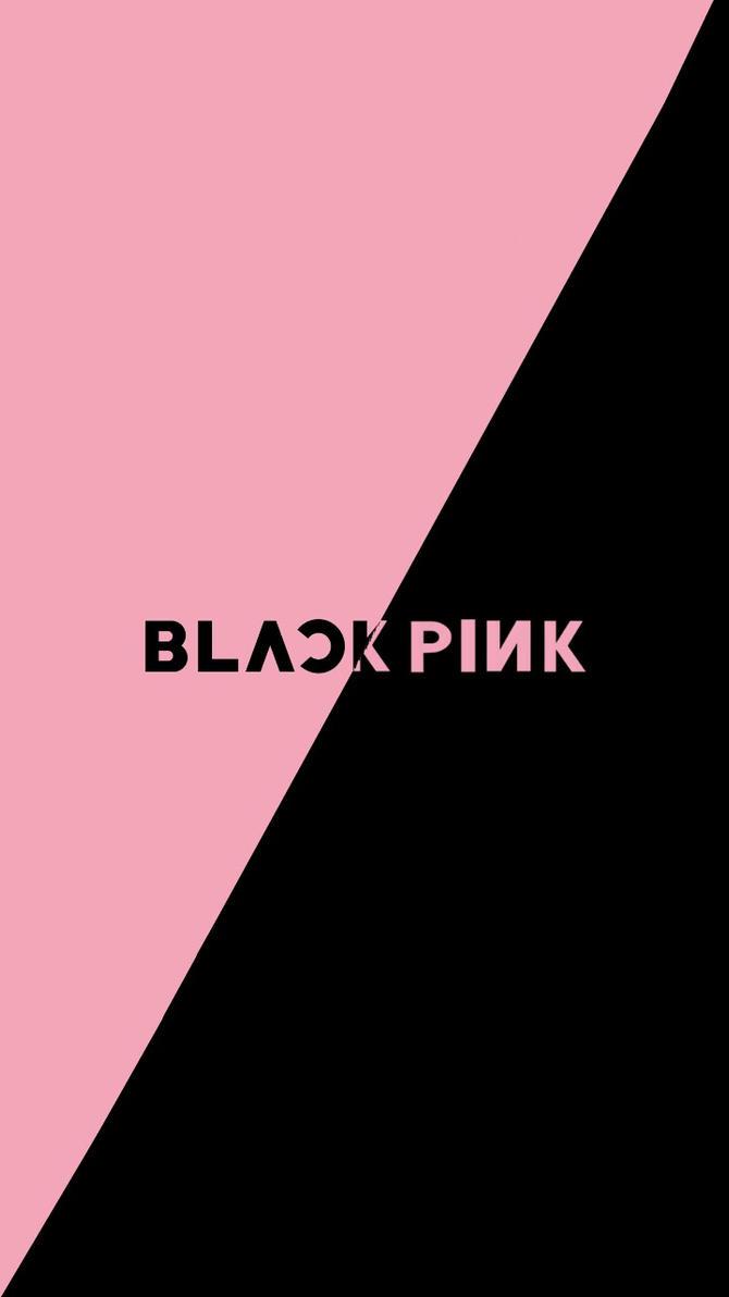 Black Pink Logo Wallpaper Unlimited Clipart Design