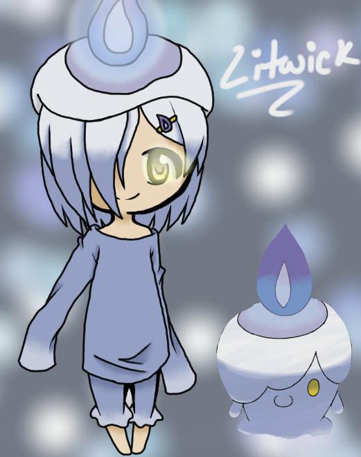 Pokemon Litwick Gijinka Adopt