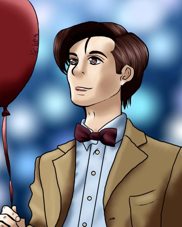 Red Ballon 11th Doctor by Hazardous-Adopts