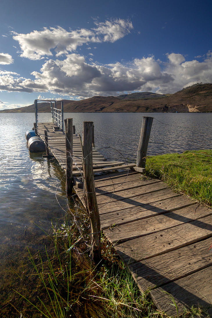 Laguna de Saussacocha by fotottiv