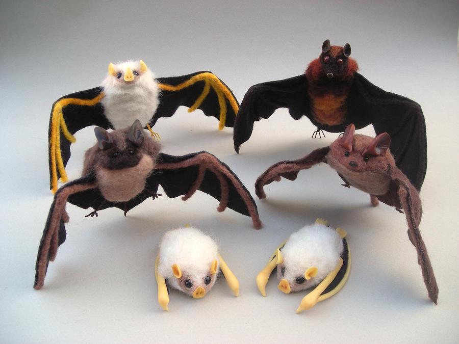 Bunches o' Bats by creturfetur