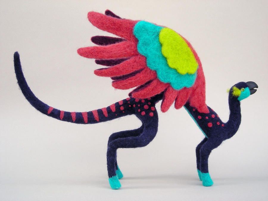 Maruja the alebrije by creturfetur