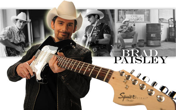 Brad Paisley by Shame-On-The-Night