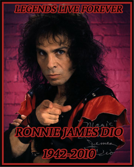 Ronnie James Dio by Shame-On-The-Night