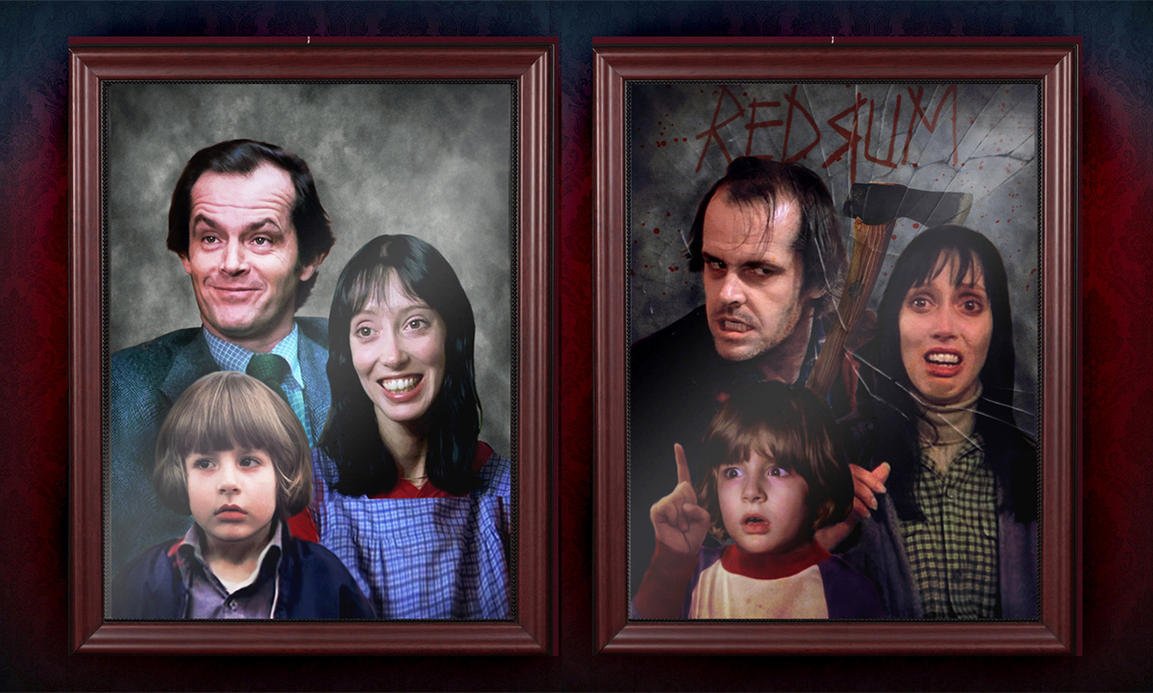 The Torrance Family Portrait. by smalltownhero on DeviantArt