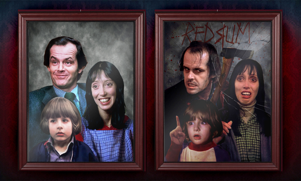 The Torrance Family Portrait. by smalltownhero