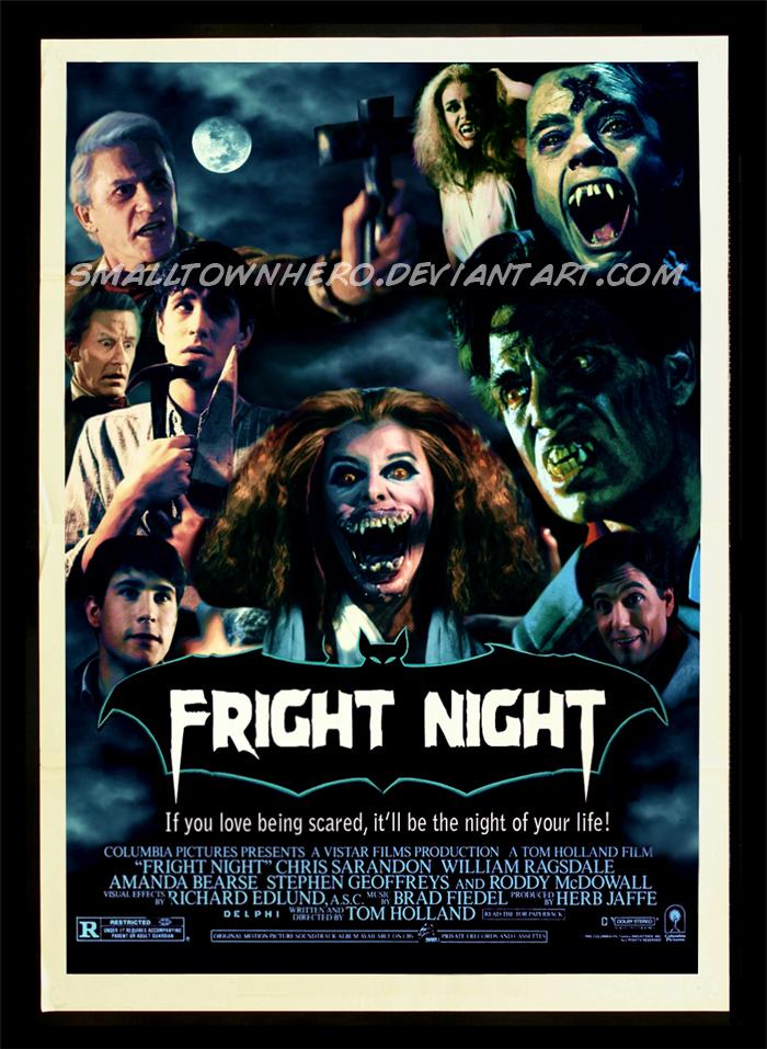 Fright Night Poster 2 by smalltownhero on DeviantArt