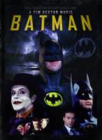 Batman 1989 poster by smalltownhero