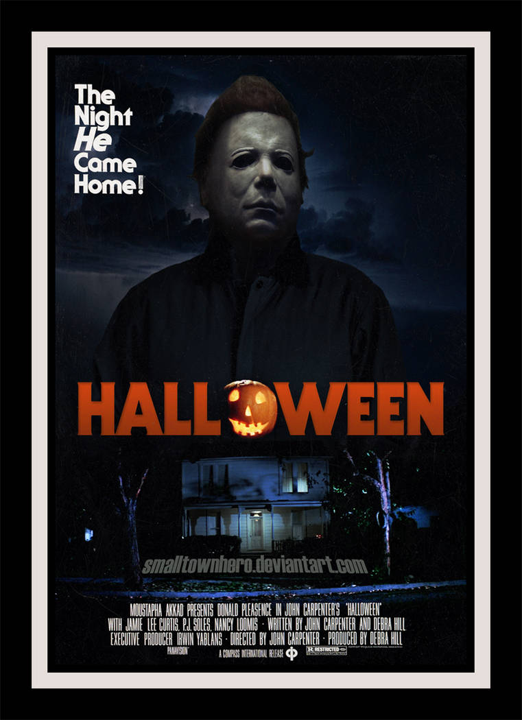 Halloween 1978 Movie Poster.Halloween 1978 Poster Re Edit By Smalltownhero On Deviantart
