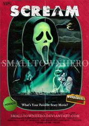 Scream Poster VHS