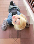 android 18 cosplay-1