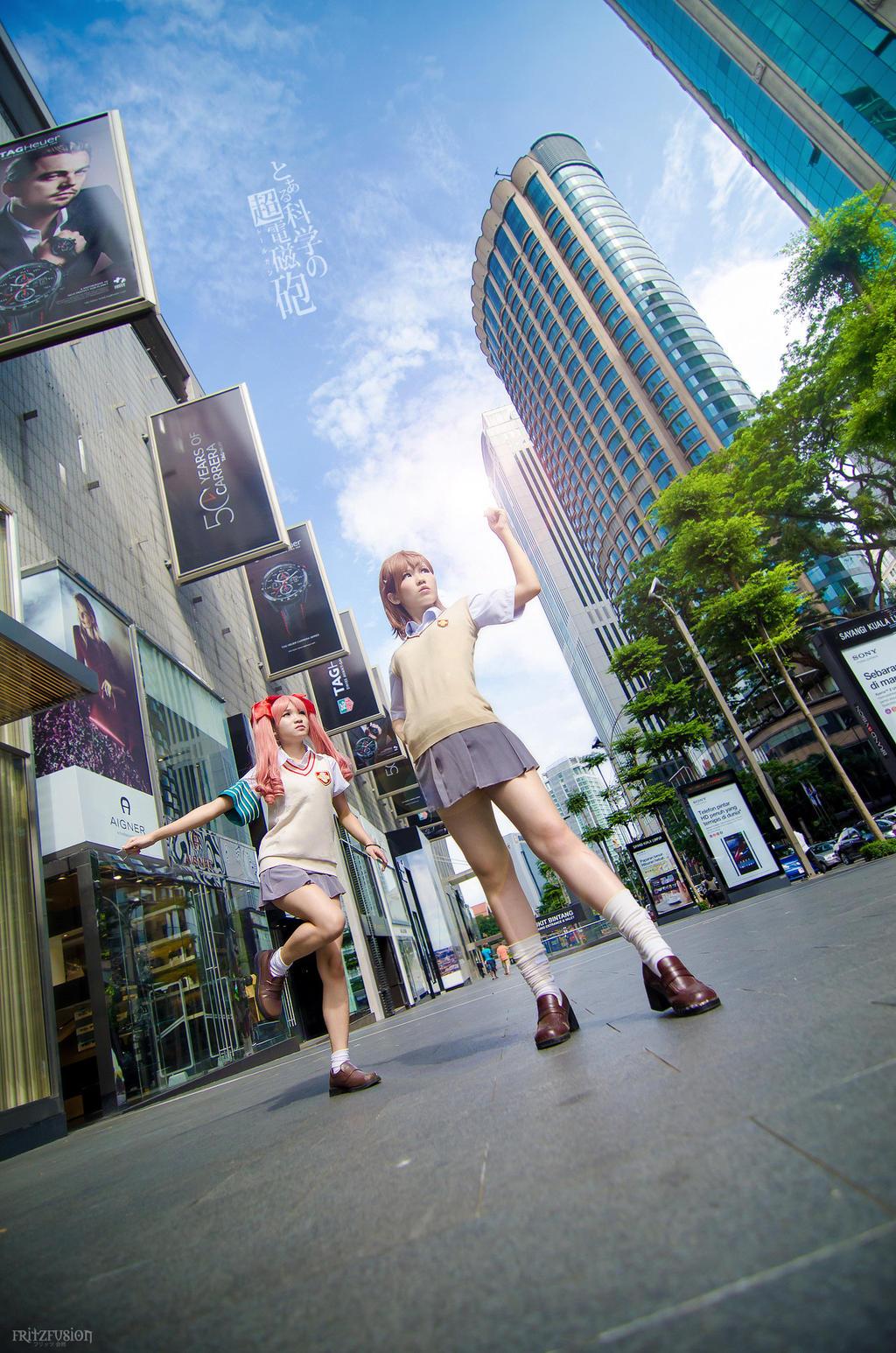 To aru kagaku no Railgun-academy city by ShineUeki33