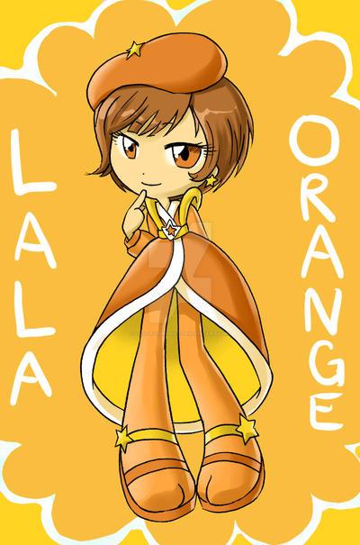 Lala Orange by Loverofpiggies