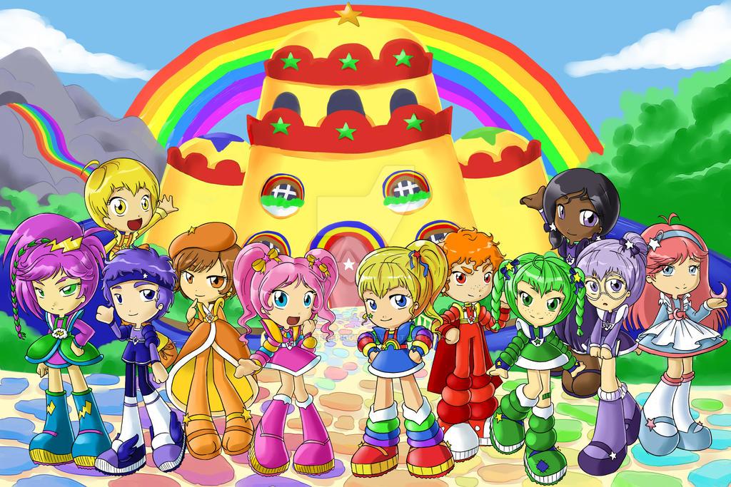Rainbow Land by Loverofpiggies