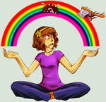 Rainbow Axe ID