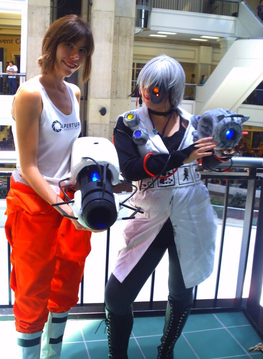 Portal Cosplay by Loverofpiggies