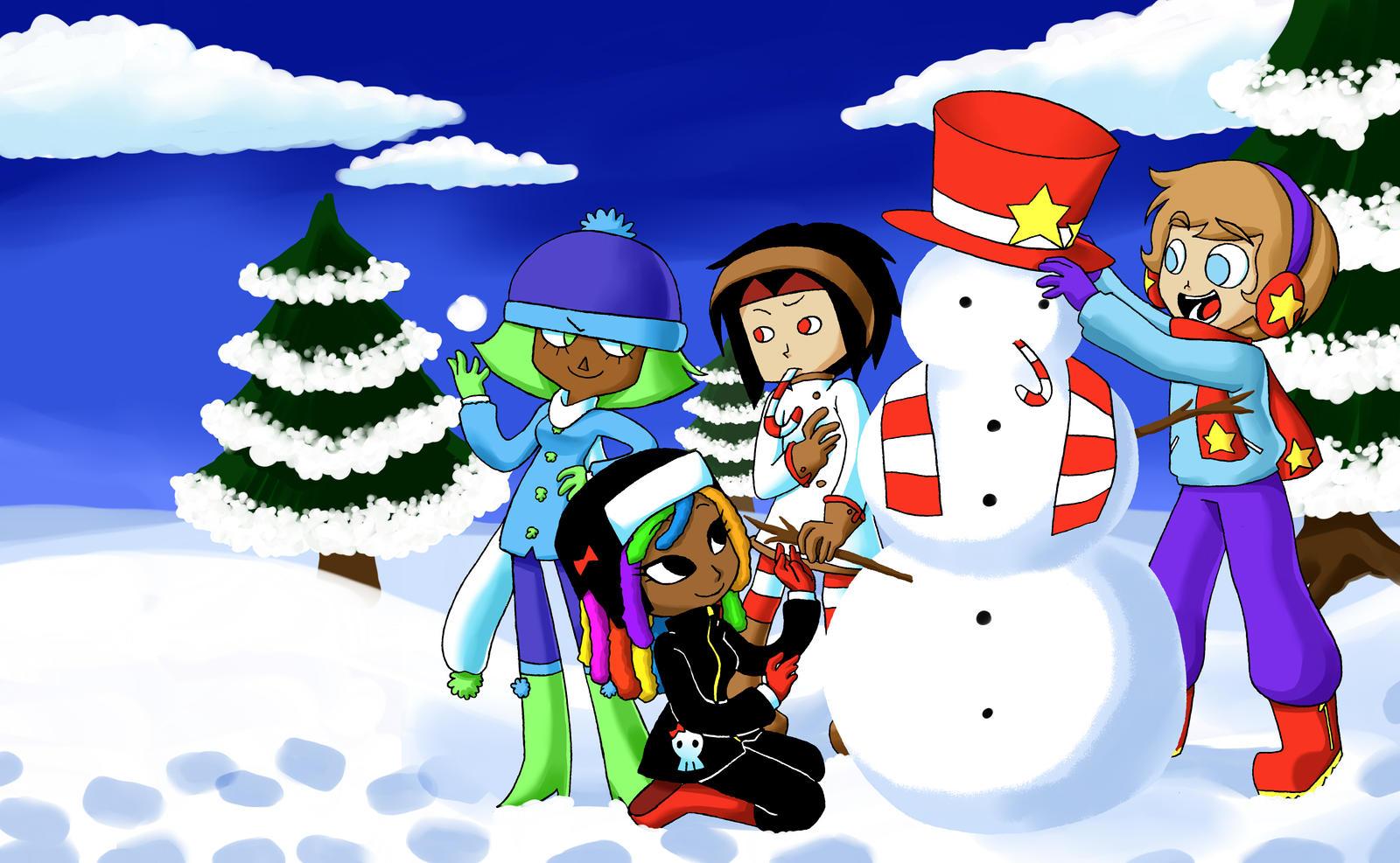 GV - Snowman by Loverofpiggies