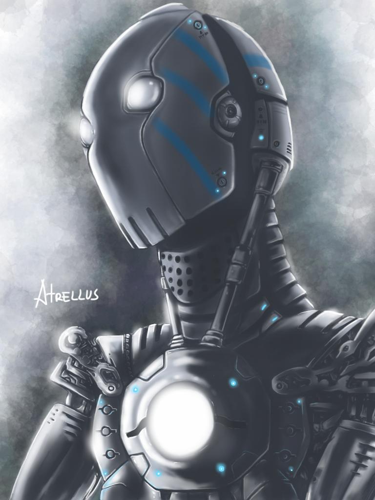 robot metal by atrellus31