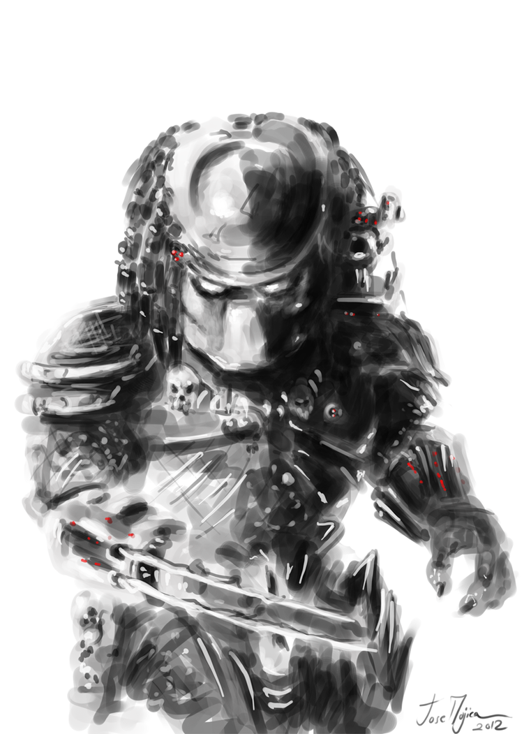 predator speedpainted by atrellus31