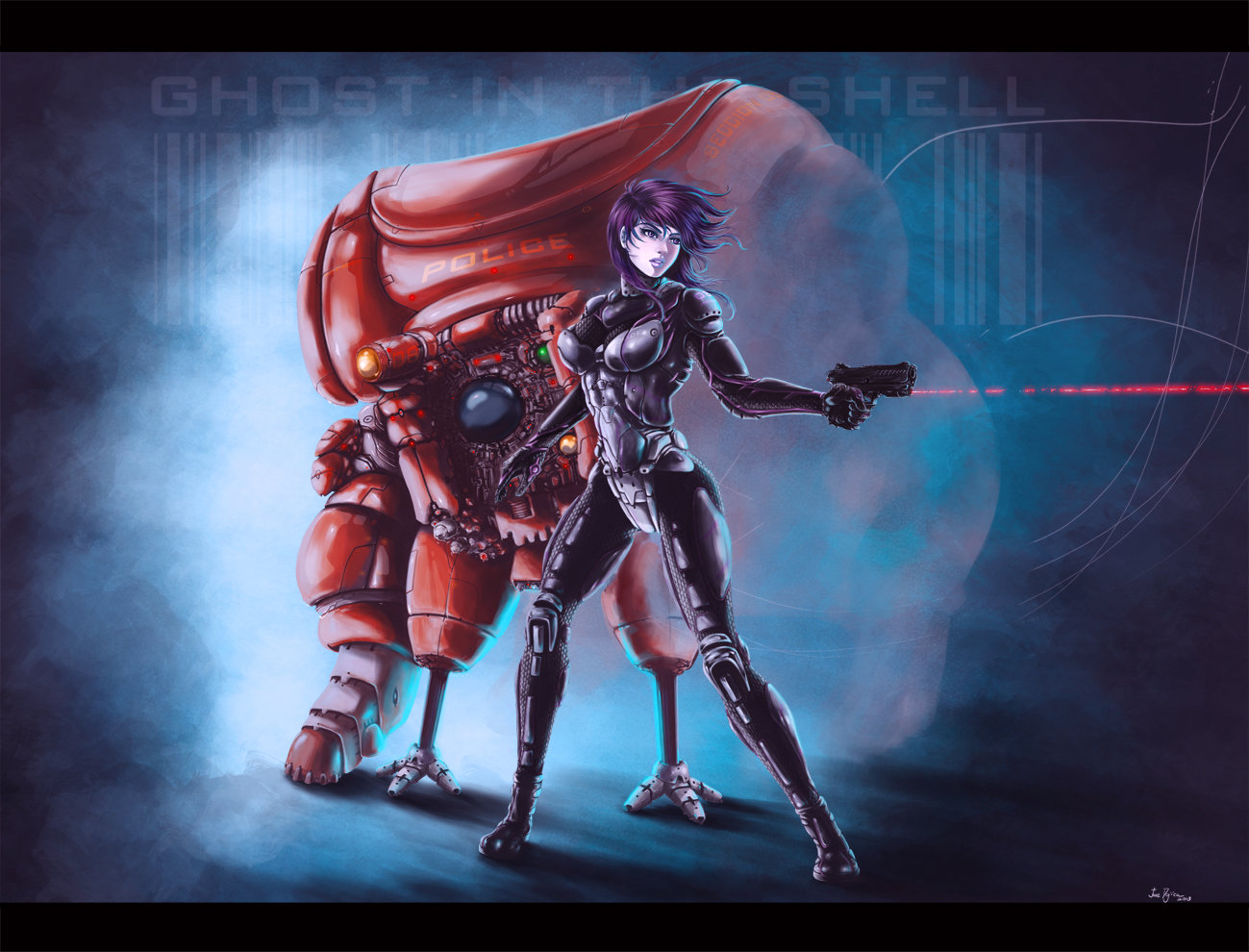 Ghostintheshell by atrellus31