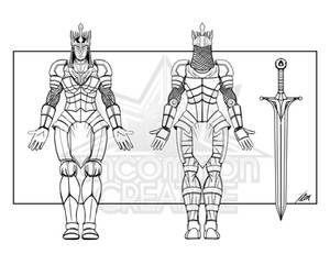 Ice Queen Character Design