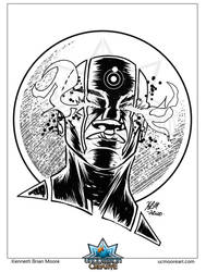 Dr Manhattan Pinup