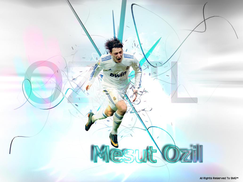 Mesut Ozil By Sakhar On DeviantArt