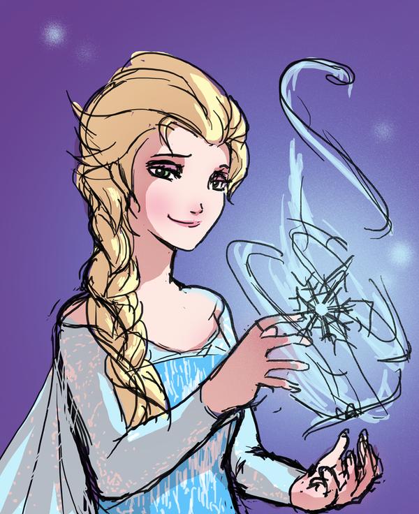 Elsa by cricat-mekikudo