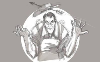 Medic sketch by vilssonify