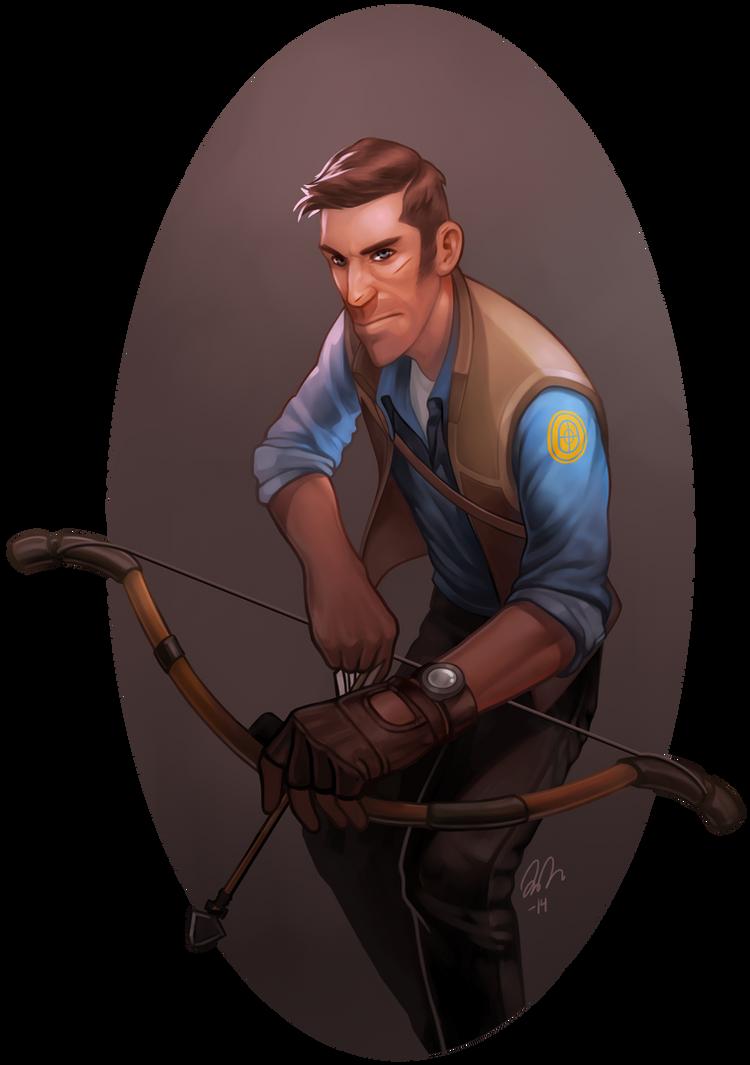 Huntsman Sniper by vilssonify