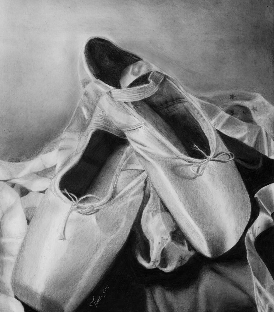 Ballet Shoes Drawing Tumblr