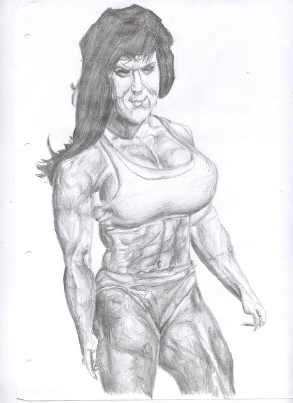 WWE Chyna in Bikini and Thong by Sissyboyxxx