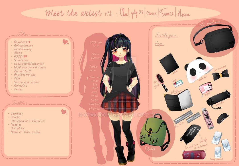Meet The Artist #2 by Otaku0chan