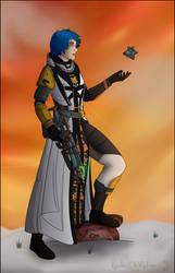 Tess the Warlock by RyadrusTheWolfDragon
