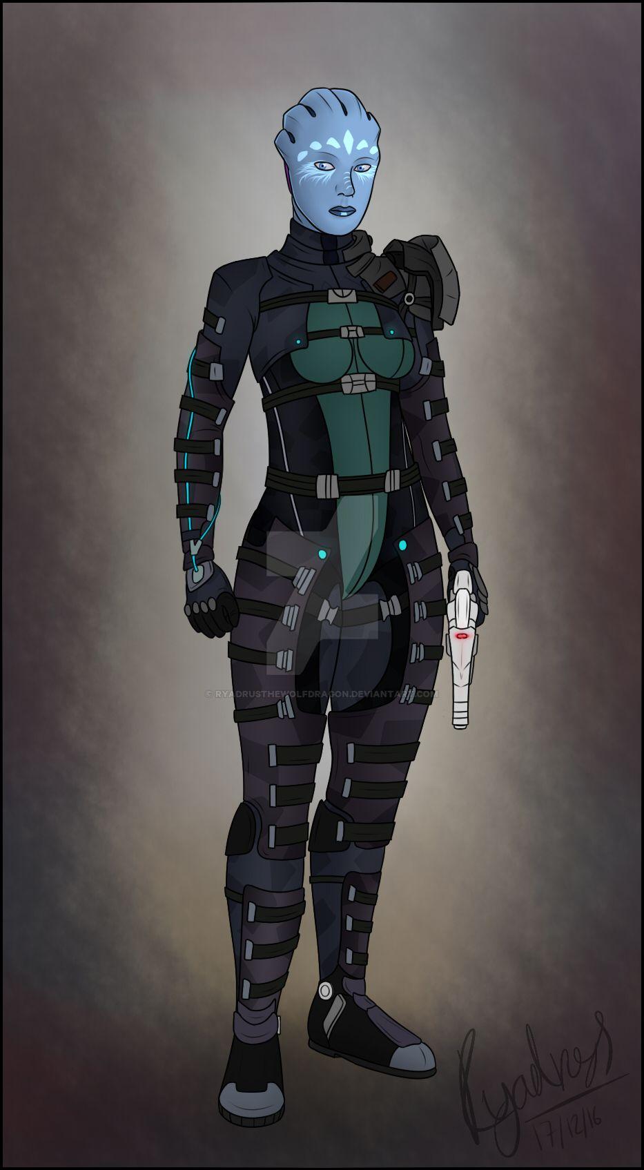 The Huntress by RyadrusTheWolfDragon