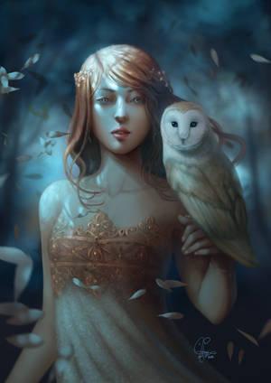 Athena by InaWong