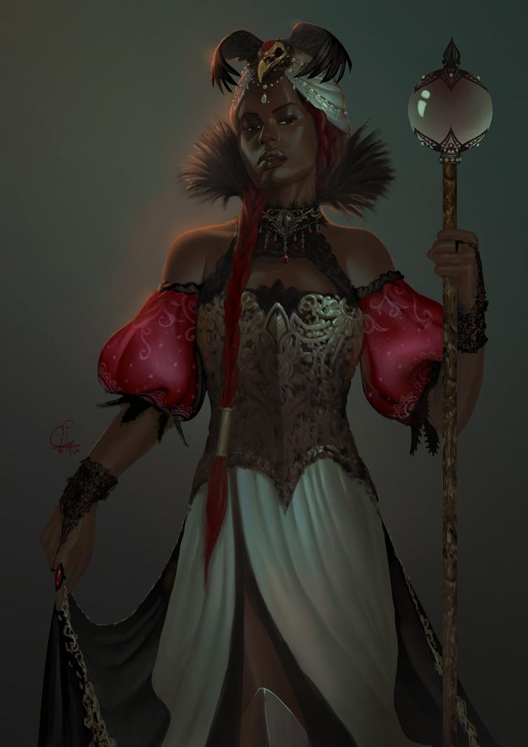 Sorceress by InaWong