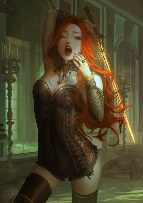 Lady Vampire by InaWong