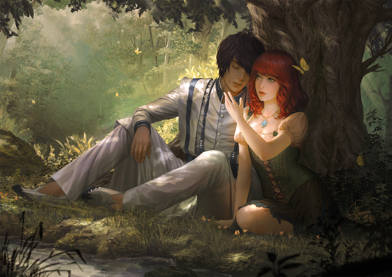 Merina and Sergius by InaWong
