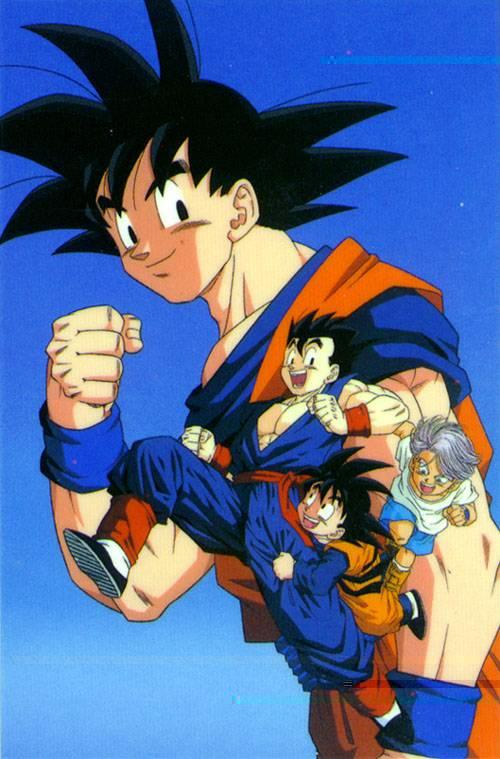 Goku Gohan Goten Trunks By 19onepiece90 On Deviantart