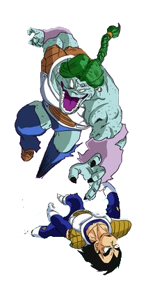 Zarbon vs Vegeta by 19...