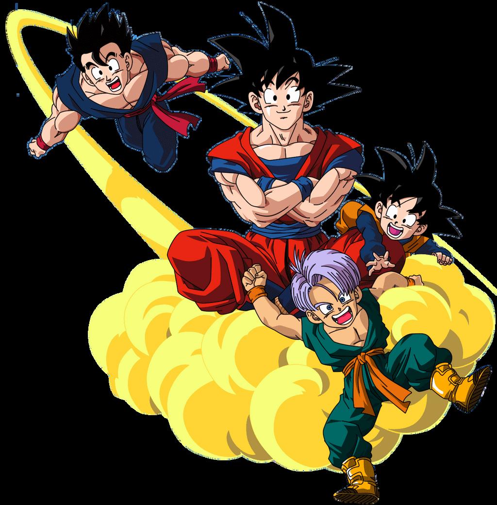 Goku Gohan Goten e Trunks by 19onepiece90 on DeviantArt