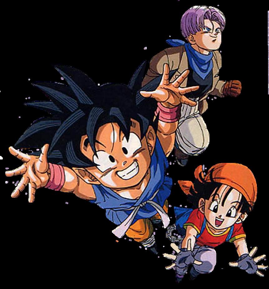 Goku Trunks E Pan By 19onepiece90 On Deviantart